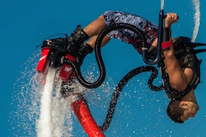 Try Flyboarding at Tattershall Lakes in the Midlands