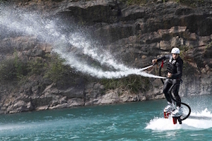 Try Flyboarding in Chepstwo and Bristol