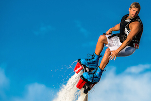Try Flyboarding in Dumfries Scotland