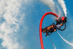 Try Flyboarding in Frodsham Liverpool Warrington