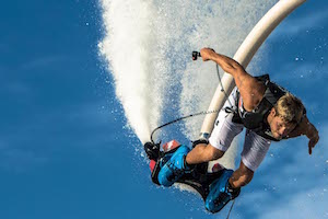 Try Flyboarding in Poole Harbour Dorset