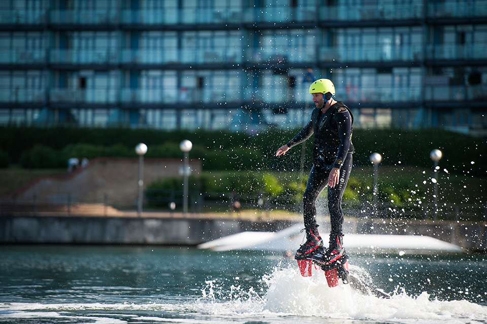 Docklands Flyboarding Experience London