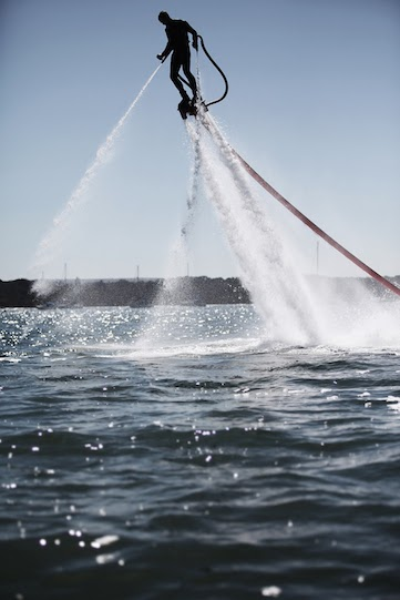 Poole Harbour Flyboard in Dorset